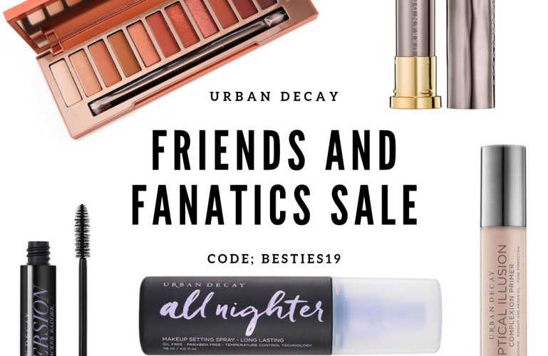 SALE: Urban Decay Friends & Fanatics 2019: What to buy?